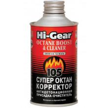 Супероктан-корректор на 60 л Hi-Gear HG3306 325 мл.