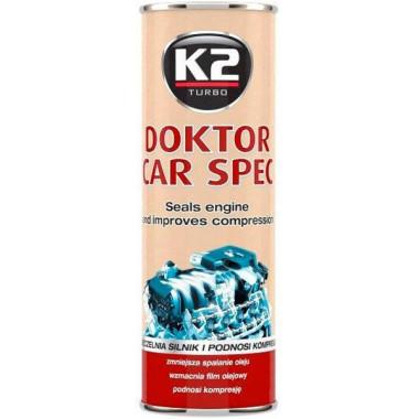 Мотор доктор (присадка к маслу) K2 DOKTOR CAR SPEC 443 мл.