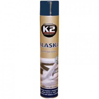 Размораживатель стекол (аэрозоль) K2 ALASKA -60C 750 мл.