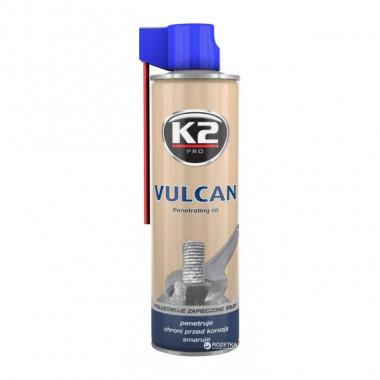 Средство для облегчения откручивания болтов K2 VULCAN 500 мл.