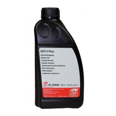 Тормозная жидкость FEBI 23930 DOT-4+ 1 литр.