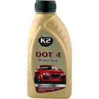 Тормозная жидкость K2 DOT-4 0,5 литра.