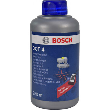 Тормозная жидкость Bosch LV DOT-4 0,5 литра.