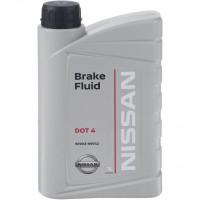 Тормозная жидкость Nissan Genuine Brake Fluid DOT 4 1 литр.