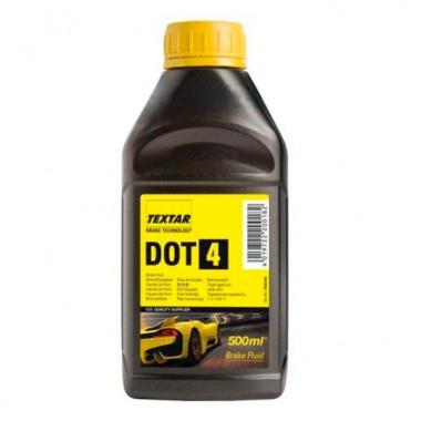 Тормозная жидкость Textar DOT-4 0,5 литра.