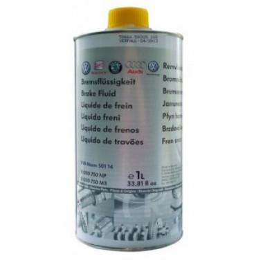 Тормозная жидкость VAG DOT-4 501.14 1 литр.