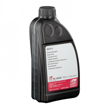 Тормозная жидкость FEBI 26461 DOT-4 1 литр.