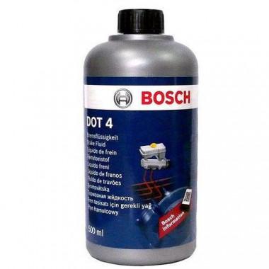 Тормозная жидкость Bosch HP DOT-4 1 литр.