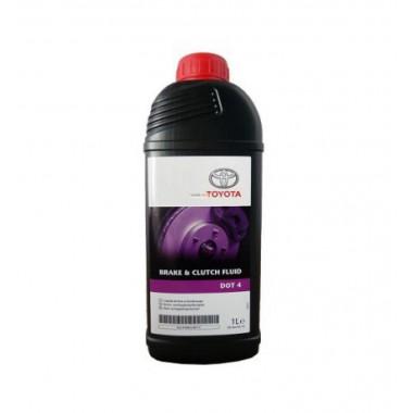 Тормозная жидкость Toyota Brake & Clutch Fluid DOT-4 1 литр.