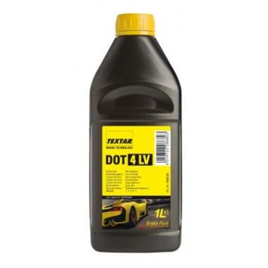 Тормозная жидкость Textar DOT-4 LV 1 литр.
