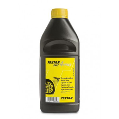 Тормозная жидкость Textar DOT-4 PRO 1 литр.