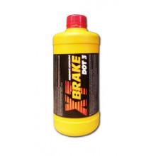 Тормозная жидкость XT DOT-3 0,5 литра.