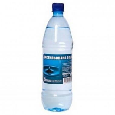 Вода дистиллированая Автотема 1 литр.