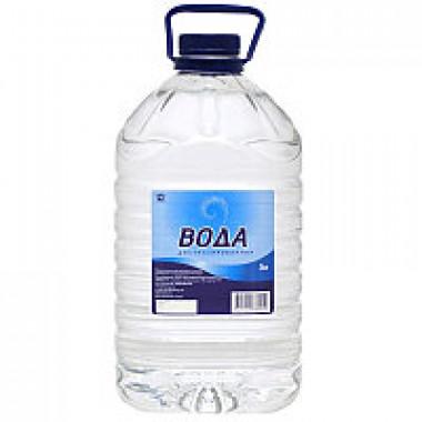 Вода дистиллированная Автотема 5 литров.