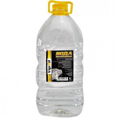 Вода дистиллированая VipOil 5 литров.