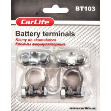 Клеммы аккумуляторные свинец CARLIFE BT103