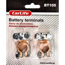 Клеммы аккумуляторные цинк, медное покрытие CARLIFE BT105
